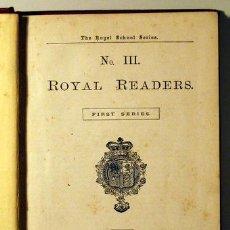Libros antiguos: ROYAL READERS Nº III. Lote 42134126