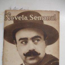 Libros antiguos: LA CONVERSION DE FLORESTAN. (LA NOVELA SEMANAL) Nª6. JULIO 1921. - CARRERE, EMILIO.. Lote 42487951