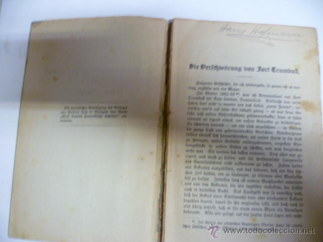 Libros antiguos: Die Verichwörung von Fort Crumbull - Das Codeslos - von Mark Twain - 1914 (en aleman) - Foto 3 - 42522747