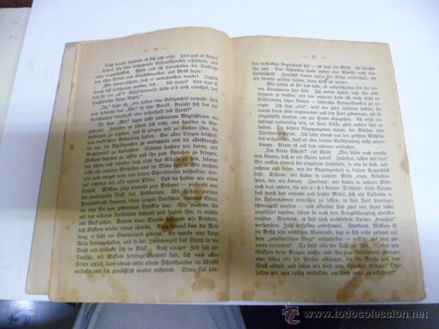 Libros antiguos: Die Verichwörung von Fort Crumbull - Das Codeslos - von Mark Twain - 1914 (en aleman) - Foto 4 - 42522747