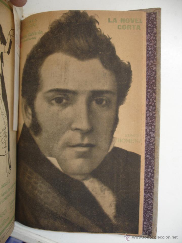 Libros antiguos: TOMO NÚMEROS DE LA COLECCIÓN LA NOVELA CORTA AÑO 1917 - SEGUNDO SEMESTRE JULIO A DICIEMBRE - Foto 3 - 42528474
