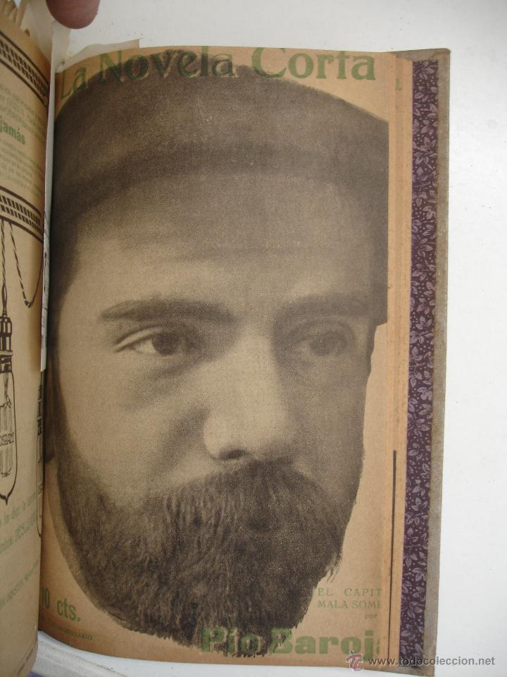 Libros antiguos: TOMO NÚMEROS DE LA COLECCIÓN LA NOVELA CORTA AÑO 1917 - SEGUNDO SEMESTRE JULIO A DICIEMBRE - Foto 4 - 42528474