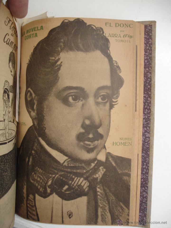 Libros antiguos: TOMO NÚMEROS DE LA COLECCIÓN LA NOVELA CORTA AÑO 1917 - SEGUNDO SEMESTRE JULIO A DICIEMBRE - Foto 5 - 42528474