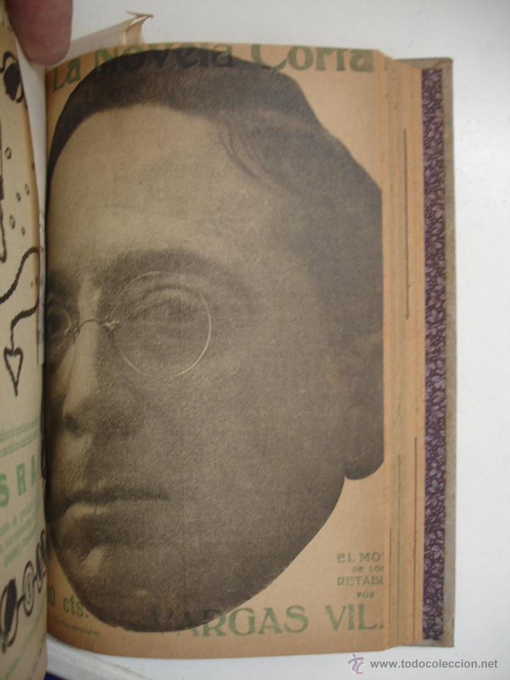 Libros antiguos: TOMO NÚMEROS DE LA COLECCIÓN LA NOVELA CORTA AÑO 1917 - SEGUNDO SEMESTRE JULIO A DICIEMBRE - Foto 7 - 42528474