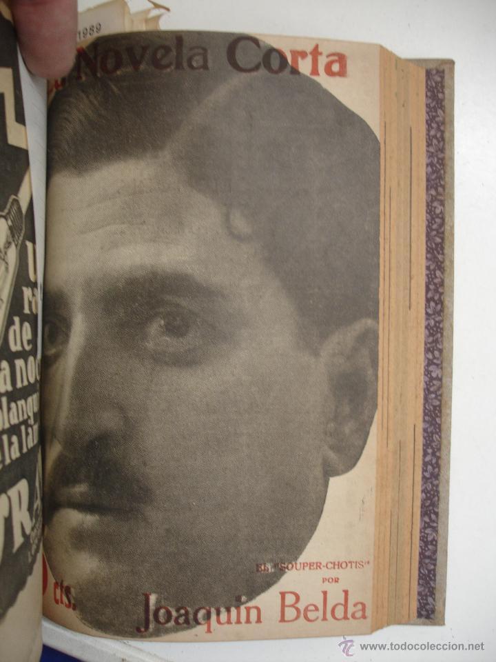 Libros antiguos: TOMO NÚMEROS DE LA COLECCIÓN LA NOVELA CORTA AÑO 1917 - SEGUNDO SEMESTRE JULIO A DICIEMBRE - Foto 9 - 42528474