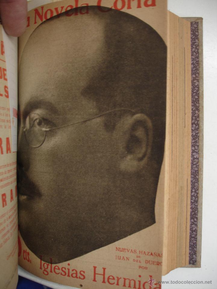 Libros antiguos: TOMO NÚMEROS DE LA COLECCIÓN LA NOVELA CORTA AÑO 1917 - SEGUNDO SEMESTRE JULIO A DICIEMBRE - Foto 11 - 42528474