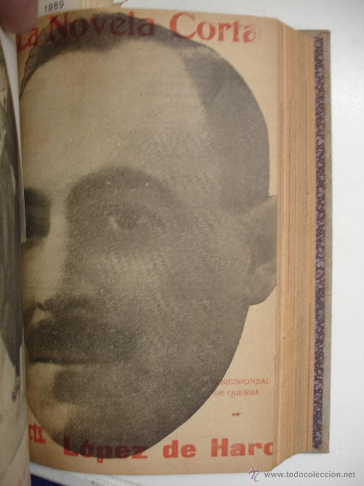 Libros antiguos: TOMO NÚMEROS DE LA COLECCIÓN LA NOVELA CORTA AÑO 1917 - SEGUNDO SEMESTRE JULIO A DICIEMBRE - Foto 13 - 42528474