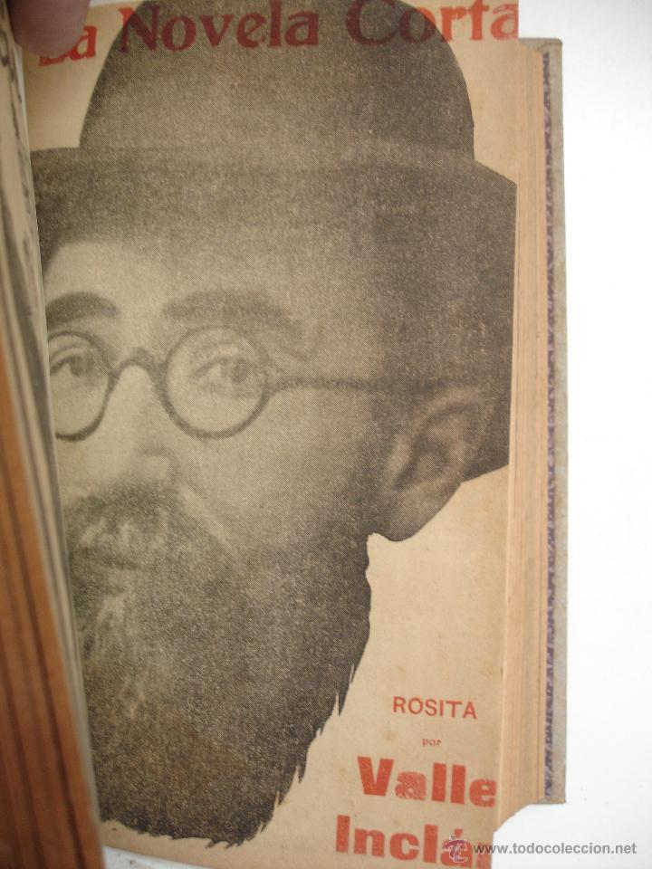 Libros antiguos: TOMO NÚMEROS DE LA COLECCIÓN LA NOVELA CORTA AÑO 1917 - SEGUNDO SEMESTRE JULIO A DICIEMBRE - Foto 14 - 42528474