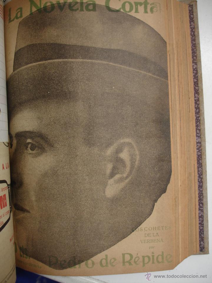 Libros antiguos: TOMO NÚMEROS DE LA COLECCIÓN LA NOVELA CORTA AÑO 1917 - SEGUNDO SEMESTRE JULIO A DICIEMBRE - Foto 15 - 42528474