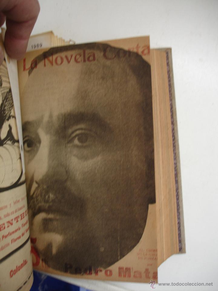 Libros antiguos: TOMO NÚMEROS DE LA COLECCIÓN LA NOVELA CORTA AÑO 1917 - SEGUNDO SEMESTRE JULIO A DICIEMBRE - Foto 16 - 42528474