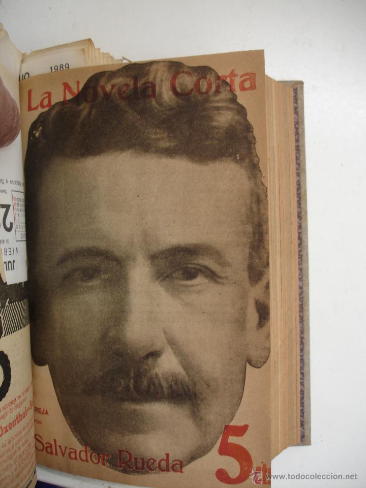 Libros antiguos: TOMO NÚMEROS DE LA COLECCIÓN LA NOVELA CORTA AÑO 1917 - SEGUNDO SEMESTRE JULIO A DICIEMBRE - Foto 17 - 42528474
