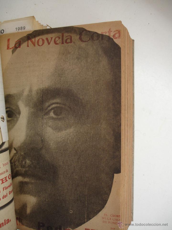 Libros antiguos: TOMO NÚMEROS DE LA COLECCIÓN LA NOVELA CORTA AÑO 1917 - SEGUNDO SEMESTRE JULIO A DICIEMBRE - Foto 18 - 42528474