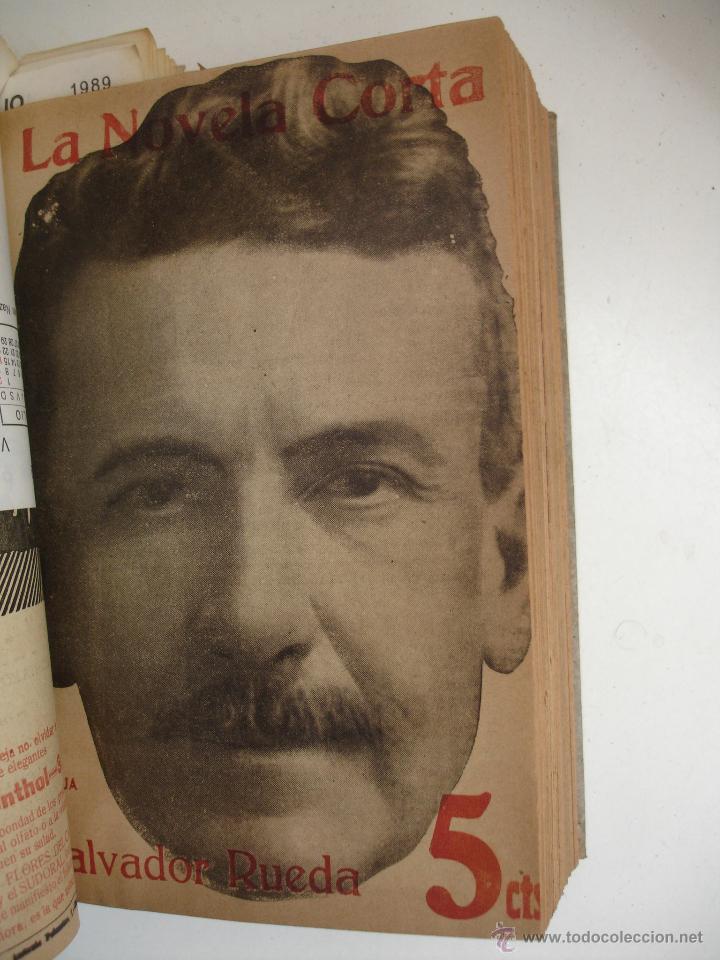Libros antiguos: TOMO NÚMEROS DE LA COLECCIÓN LA NOVELA CORTA AÑO 1917 - SEGUNDO SEMESTRE JULIO A DICIEMBRE - Foto 19 - 42528474