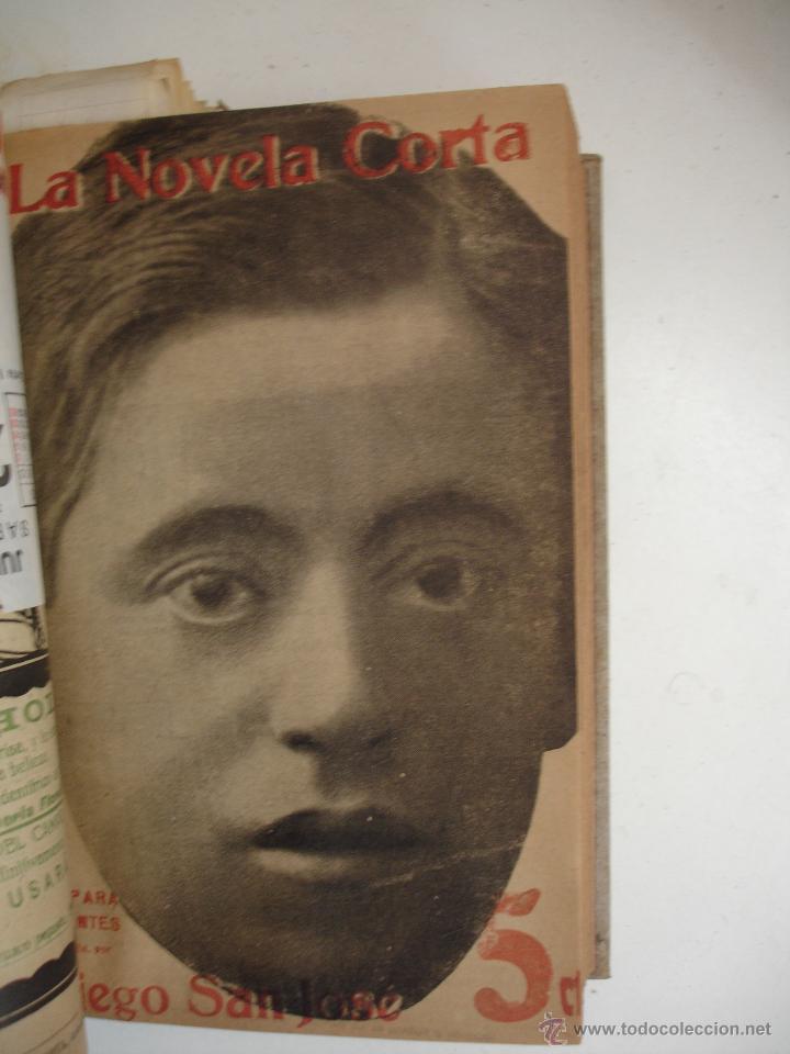 Libros antiguos: TOMO NÚMEROS DE LA COLECCIÓN LA NOVELA CORTA AÑO 1917 - SEGUNDO SEMESTRE JULIO A DICIEMBRE - Foto 20 - 42528474