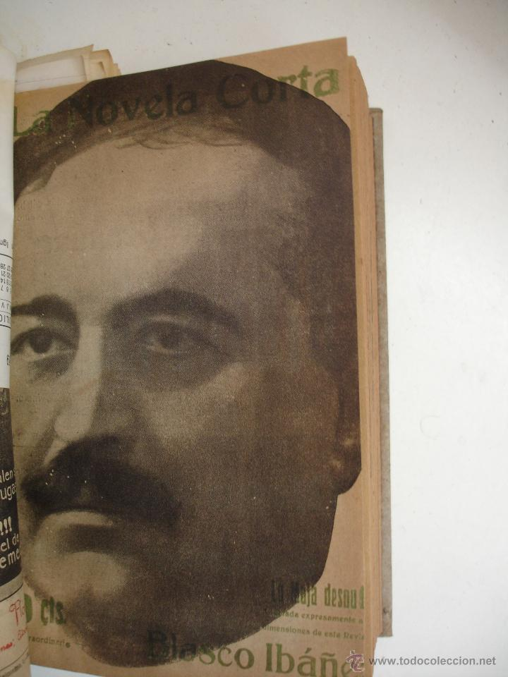 Libros antiguos: TOMO NÚMEROS DE LA COLECCIÓN LA NOVELA CORTA AÑO 1917 - SEGUNDO SEMESTRE JULIO A DICIEMBRE - Foto 21 - 42528474