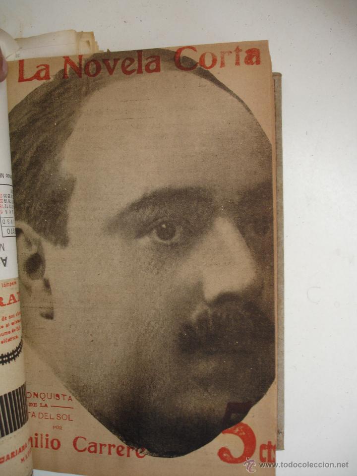Libros antiguos: TOMO NÚMEROS DE LA COLECCIÓN LA NOVELA CORTA AÑO 1917 - SEGUNDO SEMESTRE JULIO A DICIEMBRE - Foto 22 - 42528474