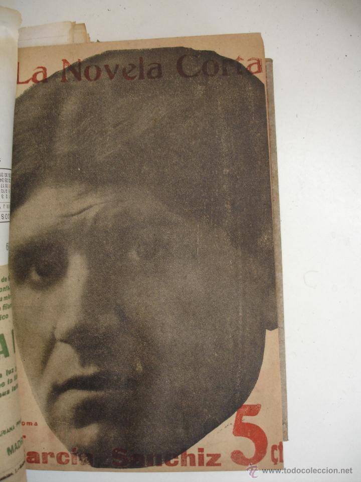 Libros antiguos: TOMO NÚMEROS DE LA COLECCIÓN LA NOVELA CORTA AÑO 1917 - SEGUNDO SEMESTRE JULIO A DICIEMBRE - Foto 24 - 42528474