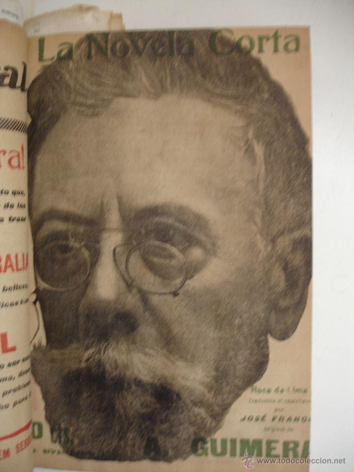 Libros antiguos: TOMO NÚMEROS DE LA COLECCIÓN LA NOVELA CORTA AÑO 1917 - SEGUNDO SEMESTRE JULIO A DICIEMBRE - Foto 25 - 42528474