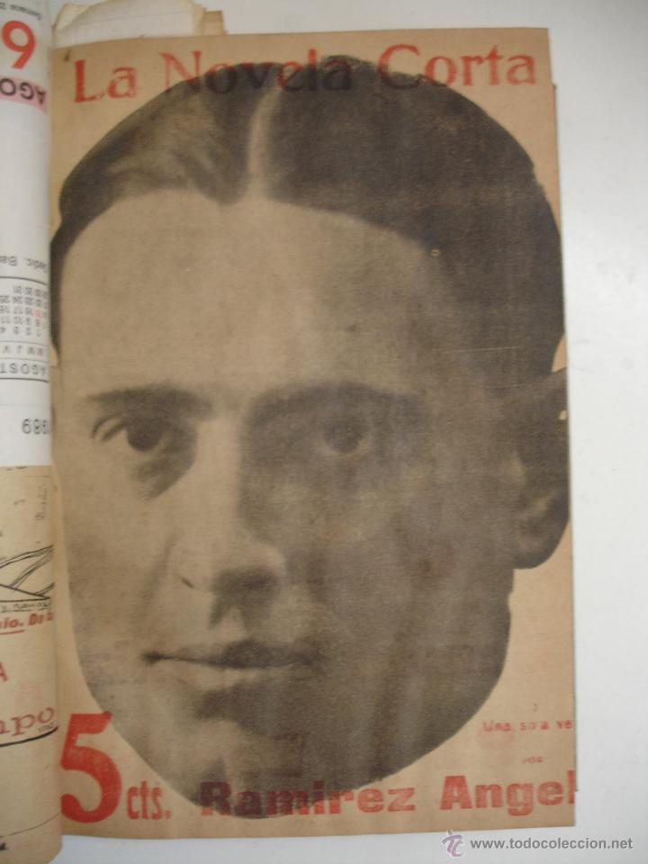 Libros antiguos: TOMO NÚMEROS DE LA COLECCIÓN LA NOVELA CORTA AÑO 1917 - SEGUNDO SEMESTRE JULIO A DICIEMBRE - Foto 26 - 42528474
