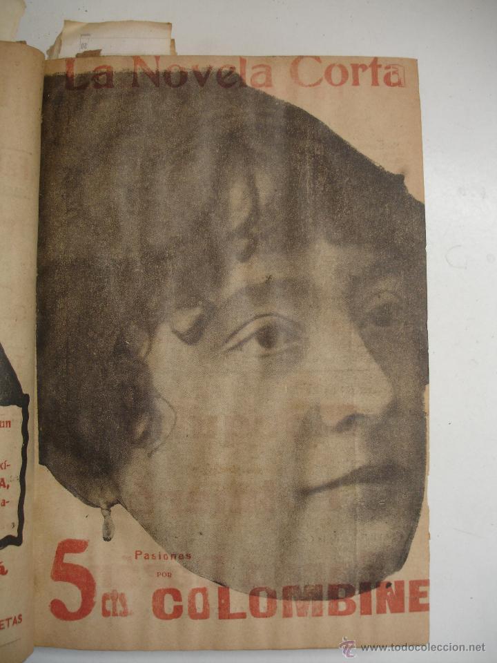 Libros antiguos: TOMO NÚMEROS DE LA COLECCIÓN LA NOVELA CORTA AÑO 1917 - SEGUNDO SEMESTRE JULIO A DICIEMBRE - Foto 28 - 42528474