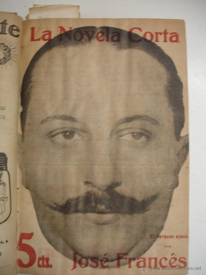 Libros antiguos: TOMO NÚMEROS DE LA COLECCIÓN LA NOVELA CORTA AÑO 1917 - SEGUNDO SEMESTRE JULIO A DICIEMBRE - Foto 29 - 42528474