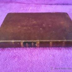 Libros antiguos: HISTORIA DEL TOREO Y DE LAS PRINCIPALES GANADERIAS DE ESPAÑA, TOROS, D. F. G. DE BEDOYA 1850. Lote 42571852
