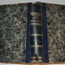 Libros antiguos: ÉSTUDES HISTORIQUES. TOMO I Y II. FRANÇOIS-RENÉ DE CHATEAUBRIAND RM65299. Lote 42635630