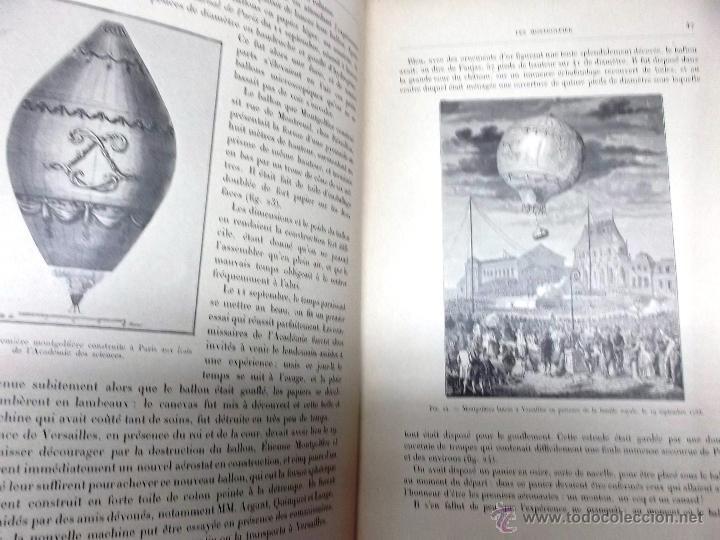 LA NAVIGATION AERIENNE POR LECORNU CA. 1906, 363 GRABADOS DE GLOBOS AEROSTÁTICOS, DIRIGIBLES, ETC. (Libros Antiguos, Raros y Curiosos - Ciencias, Manuales y Oficios - Otros)