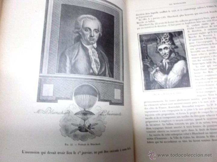 Libros antiguos: LA NAVIGATION AERIENNE por Lecornu ca. 1906, 363 grabados de globos aerostáticos, dirigibles, etc. - Foto 2 - 42651042