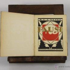 Libros antiguos: D-338. FAUST- H.J.J. BUYSE. EDIT. OCCULTA UITAGAVEN. 1928. . Lote 42661518