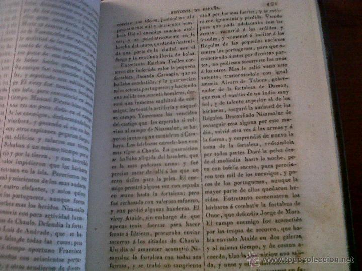 Libros antiguos: HISTORIA DE ESPAÑA ESCRITA POR EL PADRE JUAN DE MARIANA MADRID 1841-TOMO 15 Y 16 - Foto 5 - 42665566