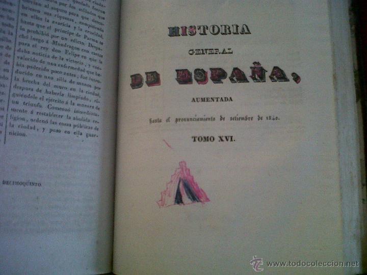 Libros antiguos: HISTORIA DE ESPAÑA ESCRITA POR EL PADRE JUAN DE MARIANA MADRID 1841-TOMO 15 Y 16 - Foto 6 - 42665566