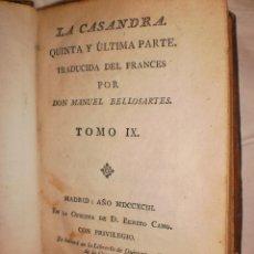 Libros antiguos: LA CASANDRA. Lote 42666731