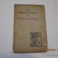 Libros antiguos: LOS CENT CONÇEYLS DEL CONÇEYL DE CENT - PIU DE SANCT GUIU, FELIU - 1908. Lote 42682466