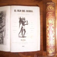 Libros antiguos: FEVAL, PAUL. EL HIJO DEL DIABLO. V.4 . Lote 42726940