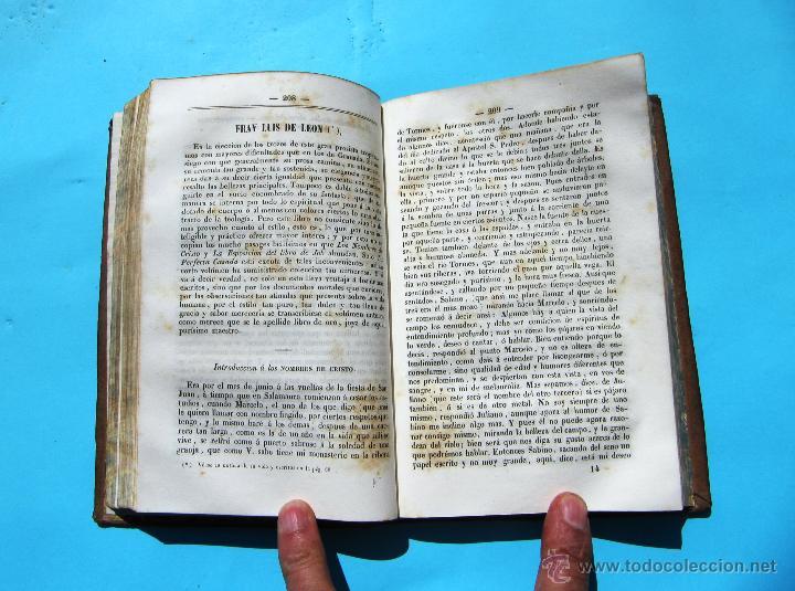 Libros antiguos: CLÁSICOS ESPAÑOLES. COLECCIÓN DE NUESTROS AUTORES ANTIGUOS Y MODERNOS. POR PABLO PIFERRER, 1846. - Foto 3 - 42787312