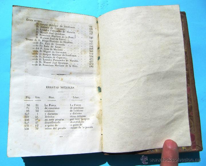 Libros antiguos: CLÁSICOS ESPAÑOLES. COLECCIÓN DE NUESTROS AUTORES ANTIGUOS Y MODERNOS. POR PABLO PIFERRER, 1846. - Foto 5 - 42787312