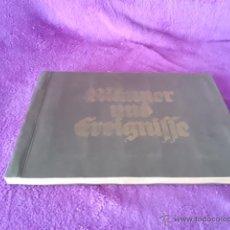 Libros antiguos: ALBUM, MANNER UND EREIGNISSE UNSERER ZEIT, HITLER DECADA DE LOS 30. Lote 42793506