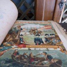 Libros antiguos: EL GRITO DE INDEPENDENCIA - C. MENDOZA - R. MOLINAS EDITOR - CON 22 LÁMINAS CUATRICOMÍAS. Lote 42810524