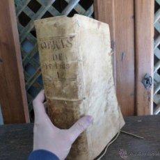 Libros antiguos: OBRAS DEL VENERABLE MAESTRO FRAY LUIS DE GRANADA - TOMO 1 - AÑO 1676 - ENCUADERNADO EN VITELA. Lote 42810961