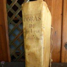 Libros antiguos: OBRAS DEL VENERABLE MAESTRO FRAY LUIS DE GRANADA - TOMO 2 - AÑO 1676 - ENCUADERNADO EN VITELA. Lote 42811004