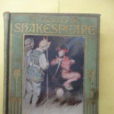 Libros antiguos: HISTORIAS DE SHAKESPEARE. ARALUCE. Lote 42845962