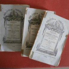 Libros antiguos: GUERRA DE CATALUÑA. FRANCISCO MANUEL DE MELO- JAIME TIÓ. 3 TOMOS. Lote 42879206