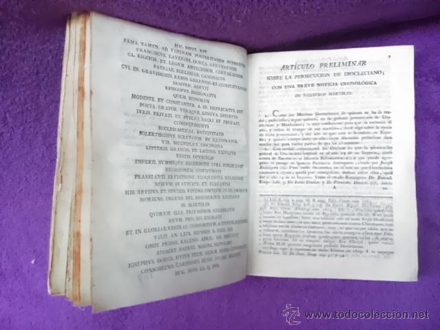 Libros antiguos: COLECCION DE NOTICIAS PARA LA HISTORIA DE LOS SANTOS MARTIRES DE GERONA, D. FRANCISCO DORCA 1796 - Foto 3 - 42909326