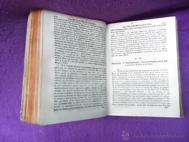 Libros antiguos: COLECCION DE NOTICIAS PARA LA HISTORIA DE LOS SANTOS MARTIRES DE GERONA, D. FRANCISCO DORCA 1796 - Foto 4 - 42909326
