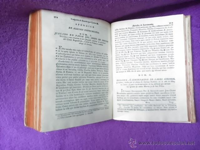 Libros antiguos: COLECCION DE NOTICIAS PARA LA HISTORIA DE LOS SANTOS MARTIRES DE GERONA, D. FRANCISCO DORCA 1796 - Foto 5 - 42909326