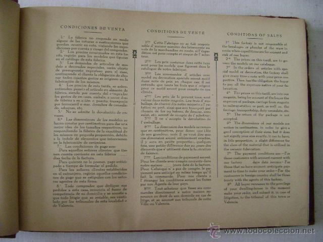 Libros antiguos: FABRICA DE LOZA TIPICA,REFLEJOS METALICOS.CAMILO DAVID AVIÑO.658 - Foto 3 - 42967636