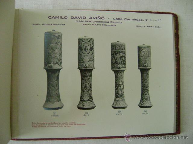 Libros antiguos: FABRICA DE LOZA TIPICA,REFLEJOS METALICOS.CAMILO DAVID AVIÑO.658 - Foto 7 - 42967636