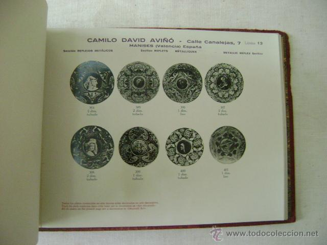 Libros antiguos: FABRICA DE LOZA TIPICA,REFLEJOS METALICOS.CAMILO DAVID AVIÑO.658 - Foto 8 - 42967636