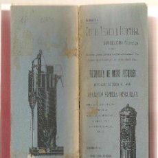 Libros antiguos: FILTRACIÓN AGUAS POTABLES APARATOS SISTEMA DESRUMAUX DEPURACIÓN DEL AGUA ...N. Lote 42991147